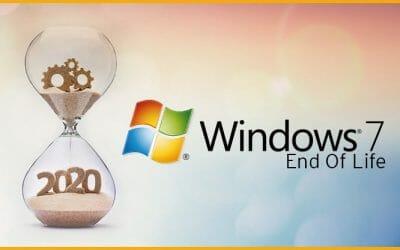 O suporte para o Windows 7 terminou em 14 de janeiro de 2020